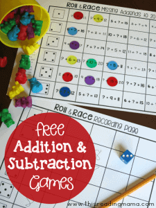 FREE-Addition-and-Subtraction-Games-for-First-Grade-This-Reading-Mama