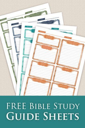 graphic regarding Printable Bible Study Guide named Cost-free Bible Research Printable Sheets - Homeschool Giveaways