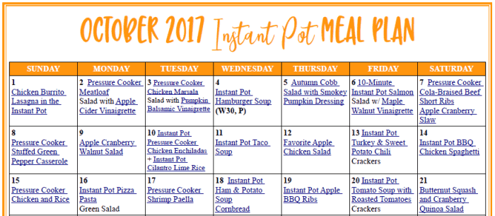 IP Meal Plan
