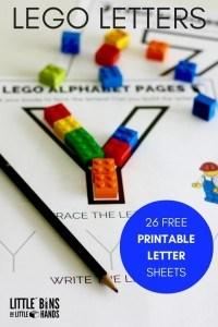 LEGOletters