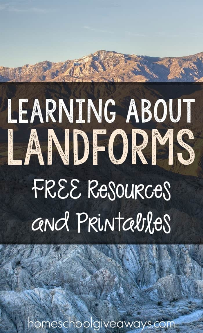 Learning About Landforms