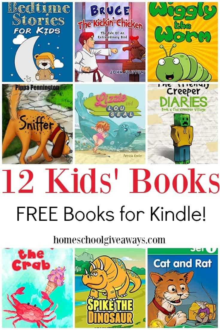 12 TOTALLY FREE Kindle Books for Kids - Homeschool Giveaways