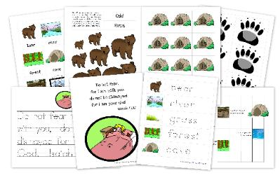 We're Going on a Bear Hunt Free Printable Pack ...