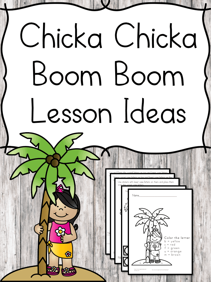 graphic about Chicka Chicka Boom Boom Printable Book known as Absolutely free Printable Chicka Chicka Increase Increase Lesson - Homeschool