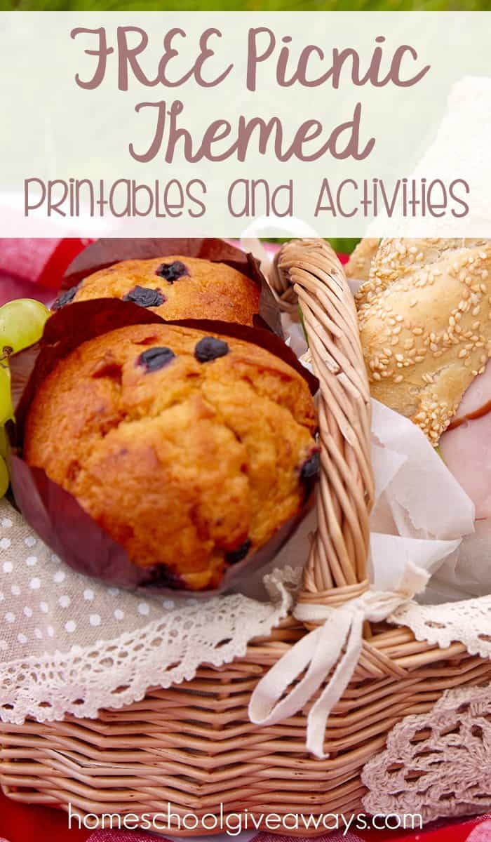 FREE Picnic Themed Printables and Activities