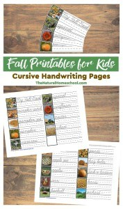 Fall-Printables-for-Kids-CURSIVE-Handwriting-Pages-main
