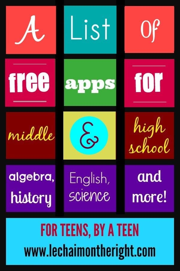 Free-Apps-for-Middle-High-School