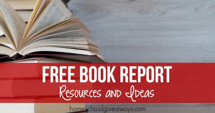 Free Book Report Resources and Ideas FB