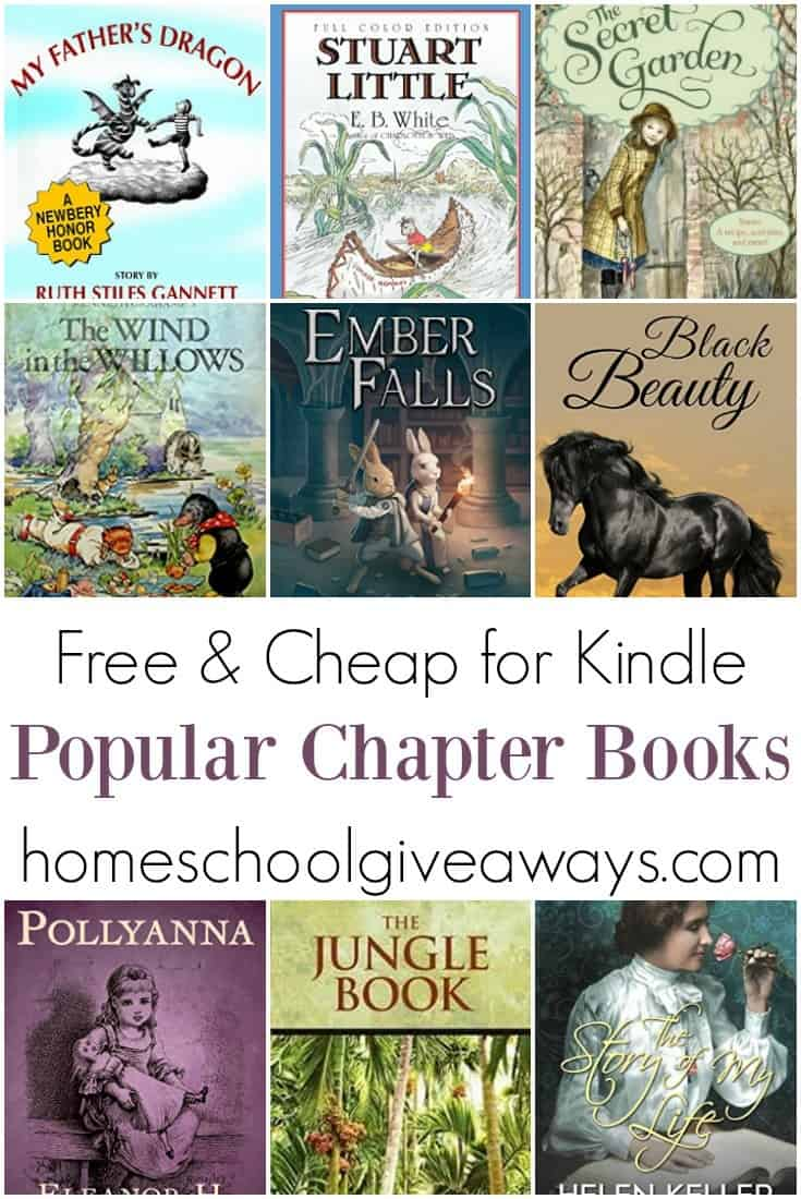 Free And Cheap Kindle Books For Kids Homeschool Giveaways