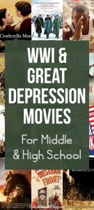 WWI-and-Great-Depression-Movies