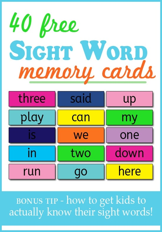 sight-word-memory-cards