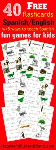 40-Free-Spanish-English-Flashcards-with-5-Games-to-teach-kids-Spanish-Great-Family-Fun-from-HappyandBlessedHome.com_