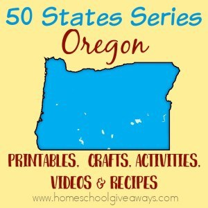 Everything you need to teach and/or learn about the great state of Oregon. From free printables to must see places to visit, to crafts, activities and more! :: www.homeschoolgiveaways.com