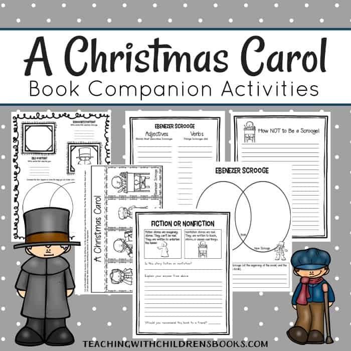 Limited time freebie a christmas carol elementary unit study vocabulary study story analysis character analysis venn diagrams writing prompts and more its free through 1130 so be sure to head over to ccuart Gallery