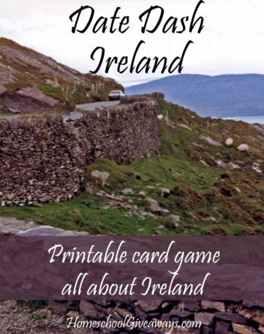 Free Irish History Card Game - Date Dash Ireland