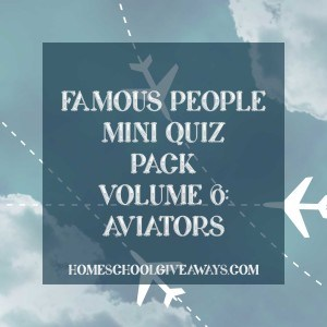 Famous People Mini Quiz Pack Volume 6-Aviators