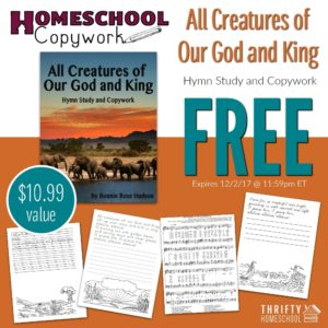 Homeschool-Copywork-Freebie