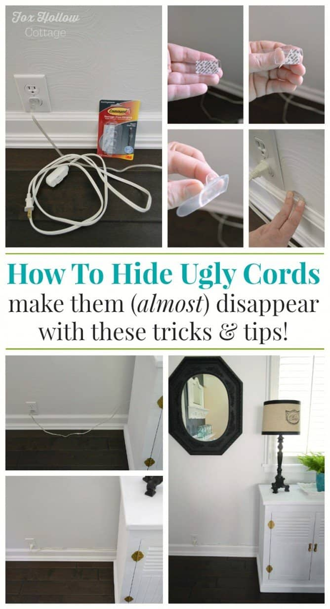 Tips And Tricks To Hide Unsightly Cords Homeschool Giveaways