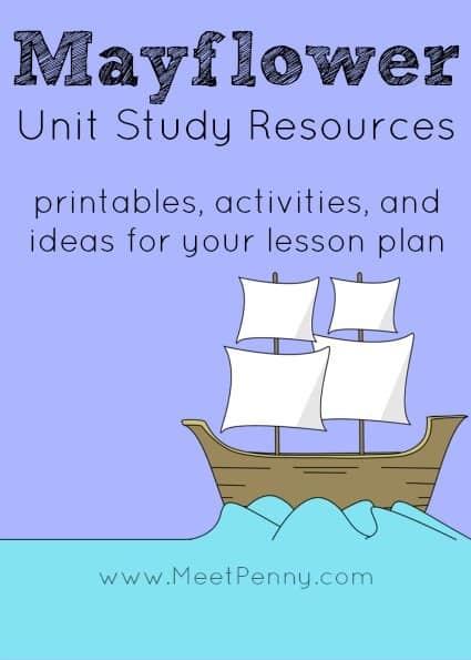 Mayflower-Unit-Study-Resources-Lesson-Plan