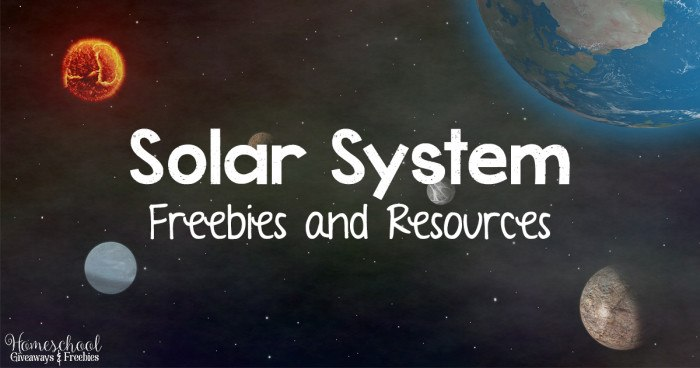 Solar System Freebies and Resources  FB
