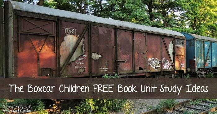 The Boxcar Children FREE Book Unit Study Ideas FB