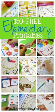 elementary freebies