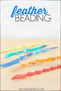 feather bead fine motor activity for kids2