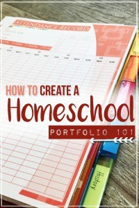 how-to-create-a-homeschool-portfolio