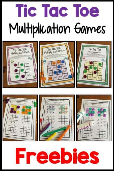 photograph regarding Multiplication Games Printable referred to as Totally free Printable Tic Tac Toe Multiplication Video games - Homeschool