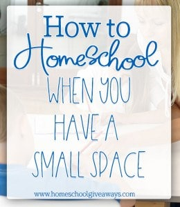 small-space-homeschool