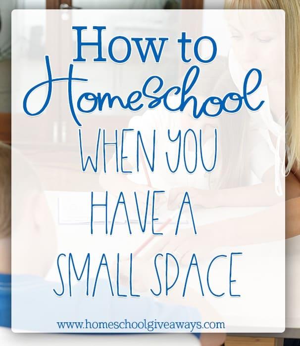 small-space-homeschool