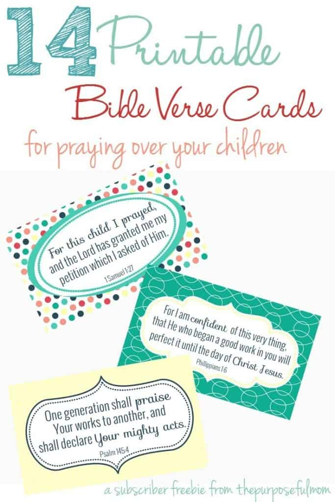 photo relating to Acts Prayer Printable called 14 Bible Verses toward Pray Earlier mentioned Your Little ones (Free of charge Printable