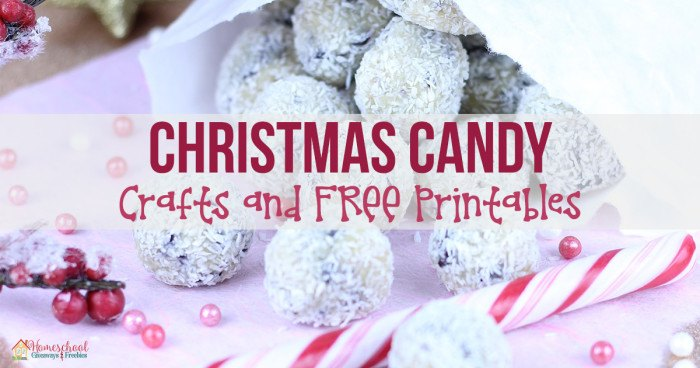 Christmas Candy Crafts and FREE Printables FB