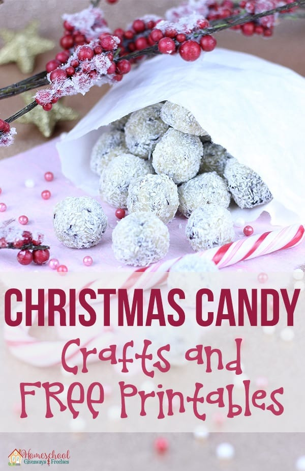 Christmas Candy Crafts and FREE Printables