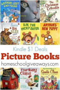 Fill your child's Kindle with this awesome collection of picture books!
