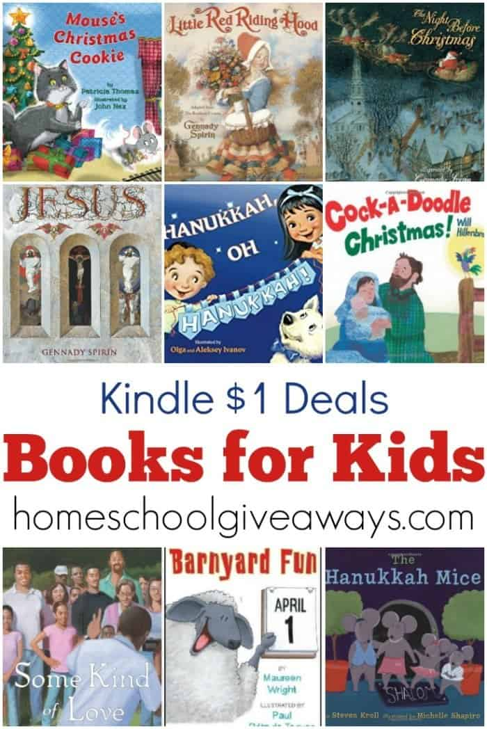 Fill your child's Kindle with this awesome collection of picture books for kids!