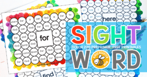 FreeSightWordWorksheets