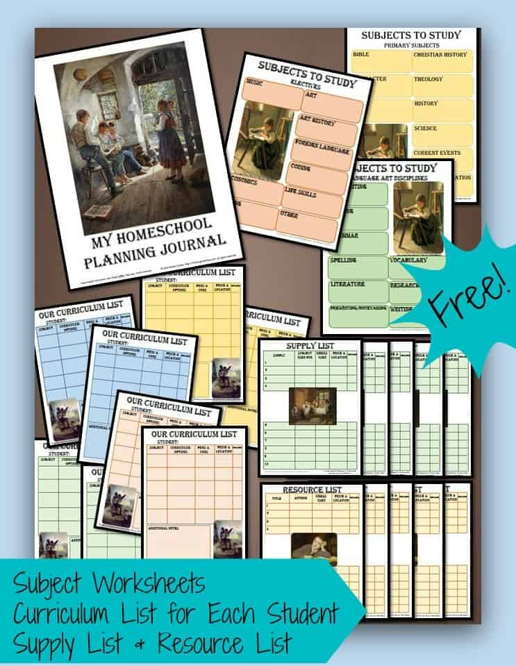 Homeschool-Planning-Journal