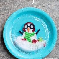 Paper-Plate-Snow-Globe