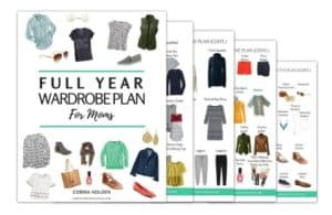 cropped Full Year Wardrobe Plan Free Download, Printable Plan Checklist and Outfit Ideas (3)
