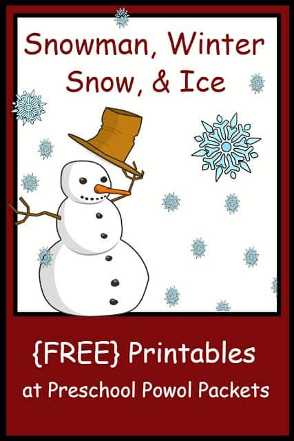 free printables background snowman winter snow ice