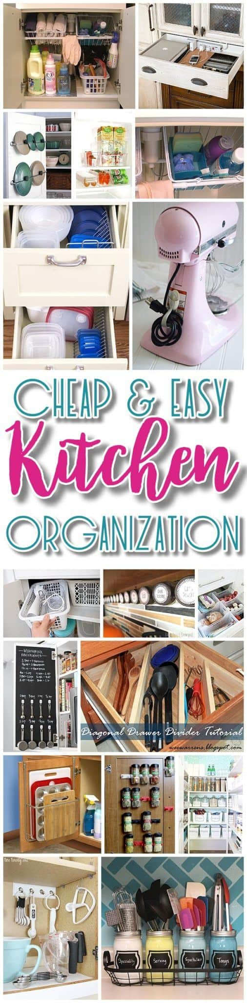 Easy-and-Budget-Friendly-Ways-to-Organize-your-Kitchen-Hacks-Ideas-Space-Saving-tips-and-tricks-for-Organization-in-the-Kitchen-Quickly