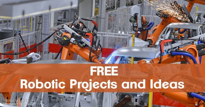 FREE Robotic Projects and Ideas FB