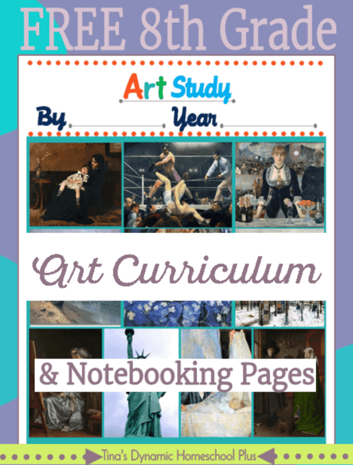Free-8th-Grade-Art-Curriculum-and-notebooking-pages.-Grab-them-over-@-Tinas-Dynamic-Homeschool-Plus