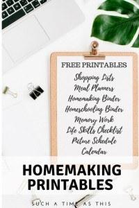 Free-PrintableShopping-ListMeal-PlannersHomemaking-BinderHomeschooling-BinderMemory-WorkLife-Skills-ChecklistPicture-ScheduleCalendar-683x1024