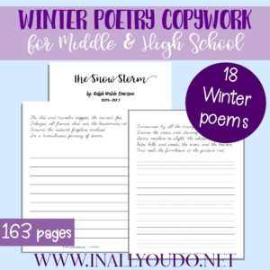 Winter Poetry Copywork_900