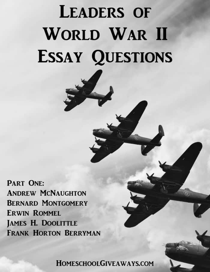 world war 2 essay questions World war ii essay question: people sometimes call world war ii a good war (especially in contrast to the vietnam war) because they perceive it as a time when the.