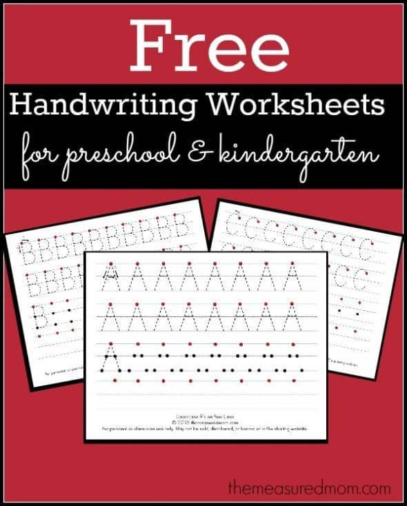 Free homeschool curriculum resources archives page 3 of 26 free printable handwriting worksheets for preschool and kindergarten this set of printable handwriting worksheets is appropriate for older preschoolers fandeluxe Images