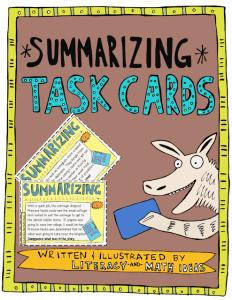 summarizing cover