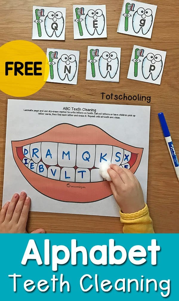 Alphabet-Teeth-Cleaning-Activity